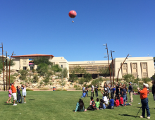 UTEP Weather Balloon Launch 2016
